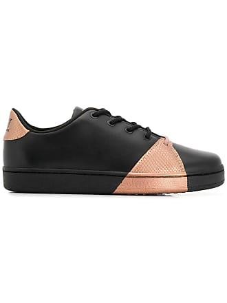 Emporio Armani colour block sneakers - Black
