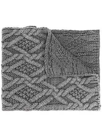 Moncler Echarpe de tricot - Cinza