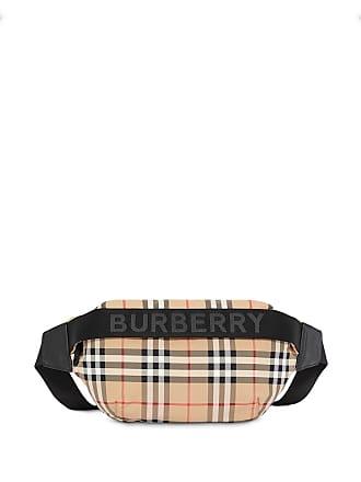 ba6be09d9 Burberry Medium Vintage Check and Icon Stripe Bum Bag - Neutro