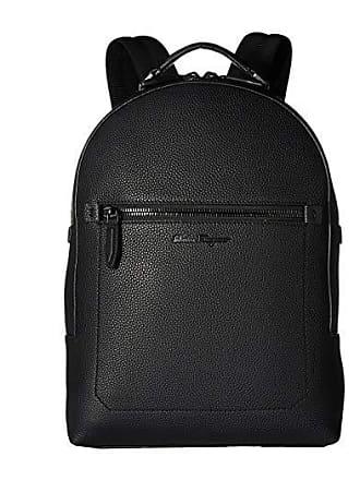f647aeb5dfce Salvatore Ferragamo Firenze Black on Black Zaino - 240823 (Nero) Bags