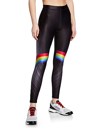 e47647b408ed6b Terez Rainbow-Print High-Rise Performance Leggings