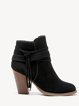 Sole Society Womens Rumi Tassel Bootie Black Size 8.5 Suede From Sole Society