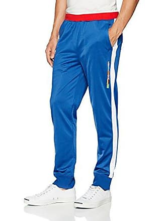 2(x)ist Mens Global Games Track Pant Pants, Monaco Blue/red/White, Large