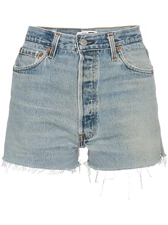 Re/Done Short jeans - Azul
