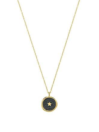 Gorjana Star Coin Necklace in Metallic Gold