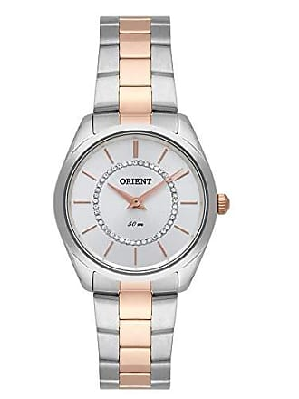 Orient Relógio Orient Feminino Ref: Ftss0070 S1sr Fashion Bicolor