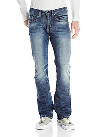 f2e42c22d61 Buffalo David Bitton Mens King Slim Boot Cut Jean Washed and Torn, 31x34