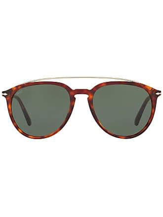 Persol Óculos de sol oversized - Marrom
