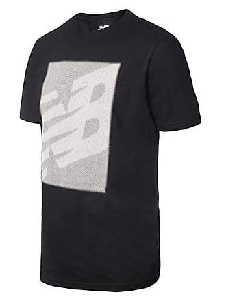 b81cafee1c New Balance Camiseta de Manga Curta New Balance Essentials Matrix | Masculina  Preto - M
