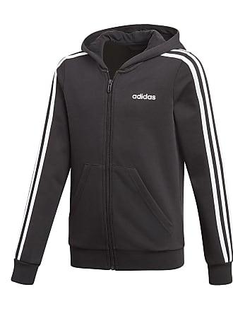 hot sale online 12d99 1c7ff adidas FELPA FULL ZIP CON CAPPUCCIO 3 STRIPES HD BAMBINA