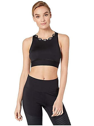 33fb7a3d0b29c Ultracor Altitude Siren Crop Top (Nero/Brushed Rose) Womens Clothing