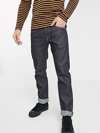 Edwin ED55 - Jeans regular affusolati in denim grezzo-Blu