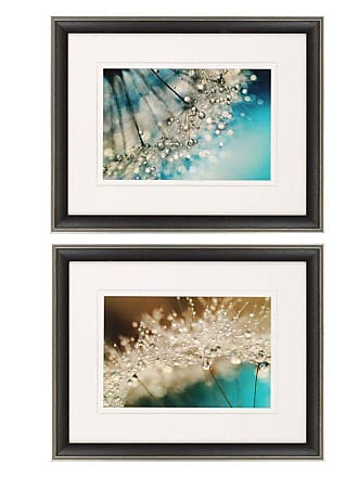 Paragon Picture Gallery Paragon Smokey Sparkles Framed Wall Art - Set of 2 - 1633