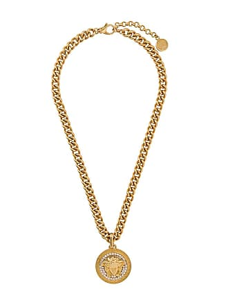 Versace Medusa chain necklace - Gold