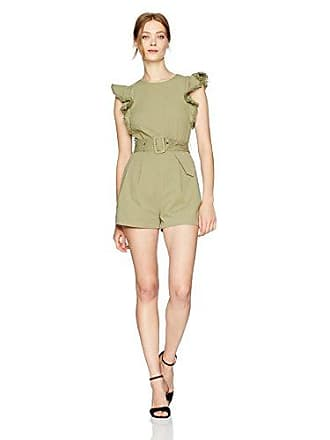 acaa0fc0f468 Moon River Womens Romper with Ruffle Detail