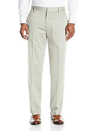 Dockers Mens Insignia Wrinkle-Free Khaki Classic-Fit Flat-Front Pant, Marble Sateen, 34W x 32L