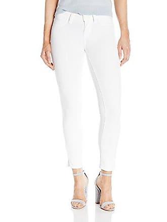 Paige Womens Verdugo Crop W/Side Slits Jeans-White Mist, 31