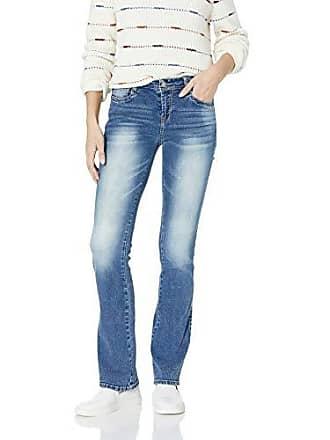 5de783e66d5 Wallflower Jeans Juniors Instastretch Legendary Classic Fit Bootcut Jeans,  Azalea, 9