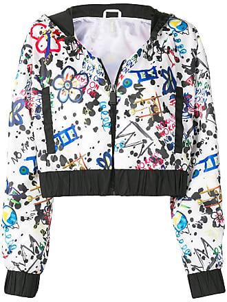 No Ka'Oi print cropped jacket - Black