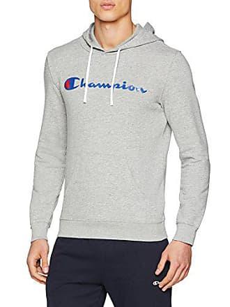 ae3935b58f76f Champion Hooded Sweatshirt-American Classics, Sweat-Shirt à Capuche Homme,  Gris (