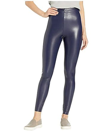 1ba8cd2cd297a Commando Perfect Control Faux Leather Leggings SLG06 (Navy) Womens Underwear