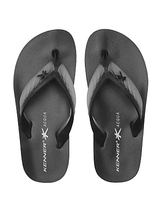 Kenner Chinelo Kenner Acqua Glass Preto