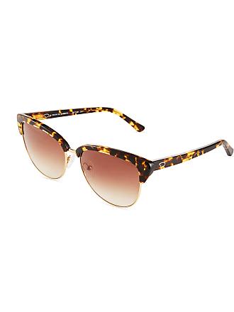 Oscar De La Renta Modern Cat-Eye Combo Sunglasses