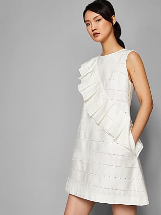 2edde60995c Ted Baker Oversized Ruffle A-line Cotton Dress