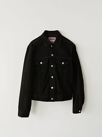 Acne Studios Acne Studios 1998 Black Metal Black Denim jacket