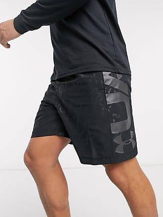 Under Armour Pantaloncini per allenamento neri con logo-Nero