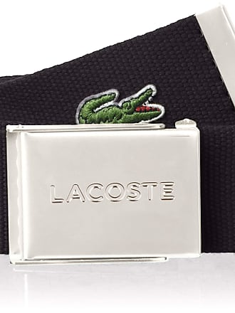 Lacoste Mens RC2012 Belt, Black (Noir), 35.5