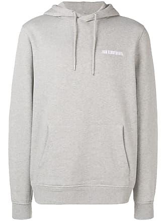 Han Kjobenhavn Moletom com logo e capuz - Cinza