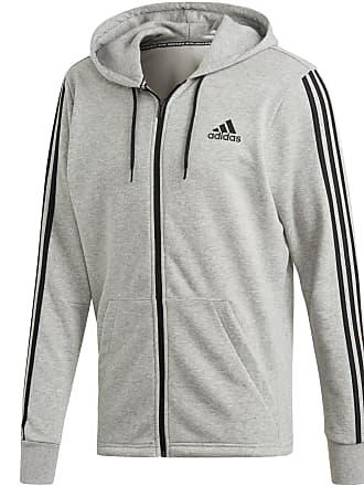 5ba624c145a0 adidas Sweatjacke Herren in medium grey heather, Größe  XXL
