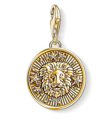 Thomas Sabo Thomas Sabo Charm pendant zodiac sign Leo yellow gold-coloured 1656-414-39