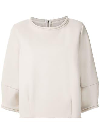 Framed Blusa Otawa mangas amplas - Branco
