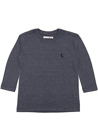 Reserva Mini Camiseta Reserva Mini Menino Liso Azul