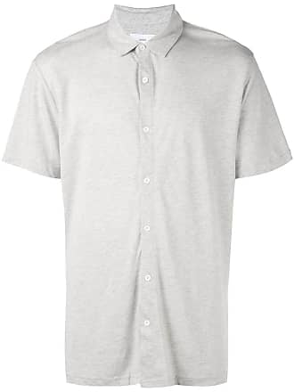 Onia Dylan short-sleeve shirt - Grey