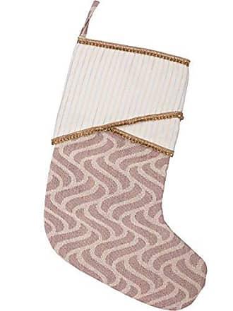 VHC Brands Holiday Decor Magdalene Stocking, 15 x 11