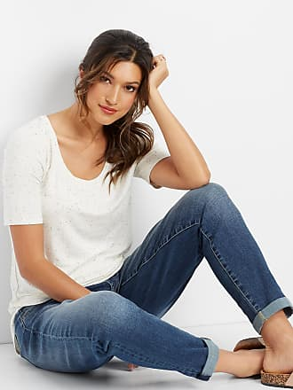 Maurices Denimflex Crosshatch Boyfriend Jean