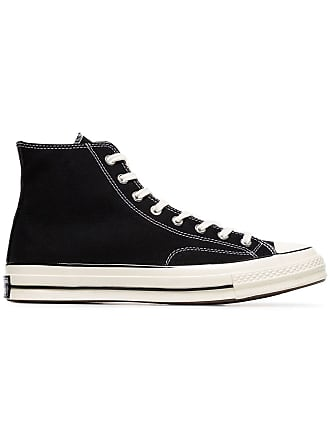 Converse black and white 70s chuck taylor sneakers