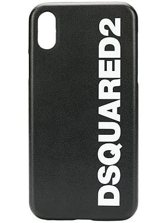 Dsquared2 Capa para iPhone X com logo - Preto