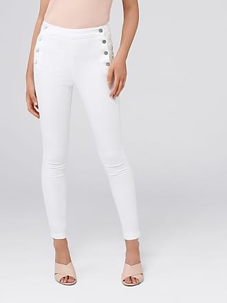 Forever New Heidi High-Rise Ankle Grazer Jeans - White - 10