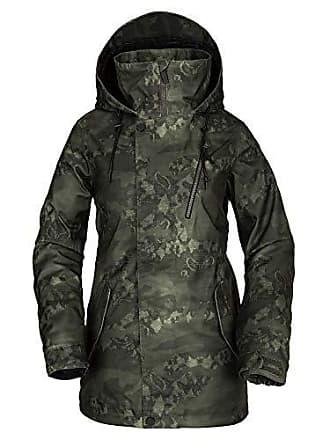 Volcom Womens Kuma Breathable Snow Jacket, Camouflage, Medium
