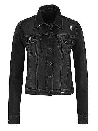 Jeansjacken für Damen in Schwarz  Jetzt bis zu −71%   Stylight d05c1bf47a
