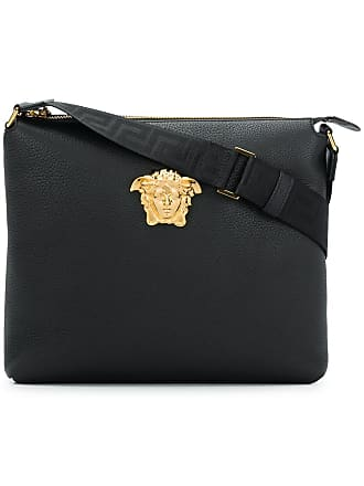Versace Medusa Shoulder Bag Black