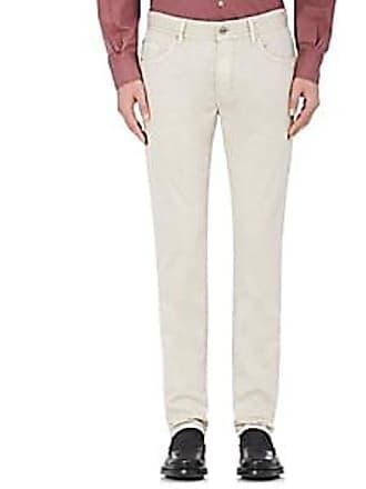 Pantaloni Torino Mens Super-Slim 5-Pocket Jeans - Beige, Tan Size 30
