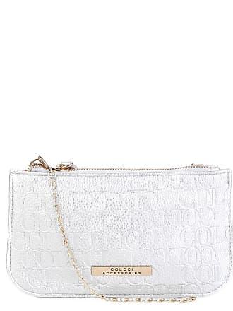 Colcci Bolsa Colcci Mini Bag Tiracolo Alça Corrente Placa Feminina -  Feminino 0fa72370160