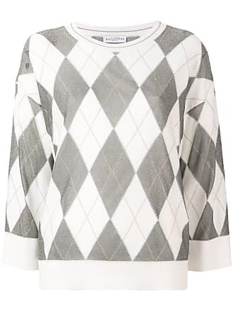 Ballantyne Suéter de tricô - Branco