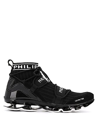 Philipp Plein black hi-top sneakers
