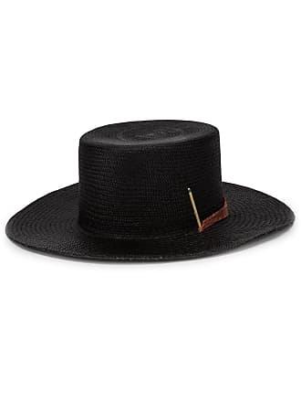 Nick Fouquet Brock X Nick 2 fedora hat - Black